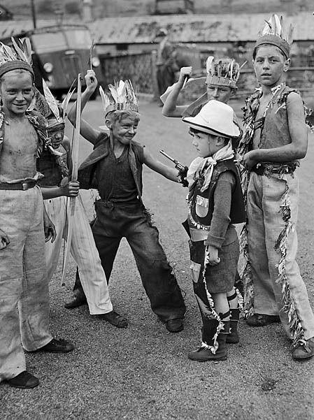 Bellagio Water Show versus Cowboys & Indians