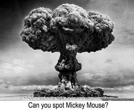 """""""Overpopulation""""  Can you spot Mickey Mouse?"""