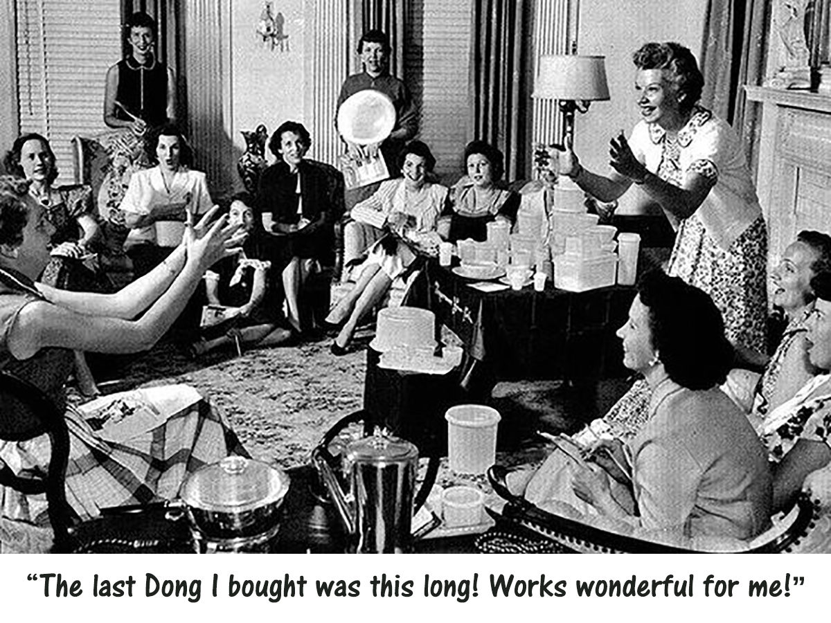 """""""The Creature from the Black Lagoon"""", and instead of Tupperware parties, how about………Wait for it……… """"BongDong"""" parties, Hahahahahahaha"""