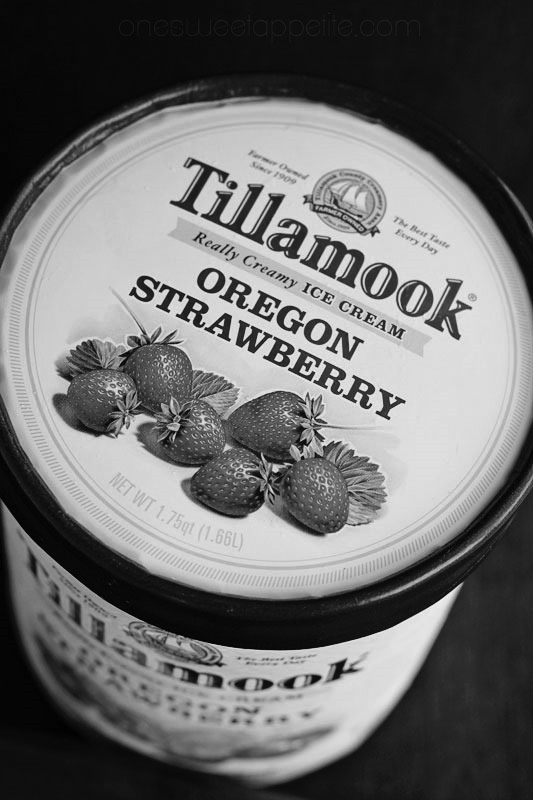 """Tillamook Oregon Strawberry Ice Cream, and """"Whose Anus is it anyway? If you squint, you can almost see a Big Spider"""""""