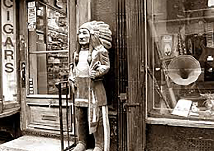 The Cigar Store Indian
