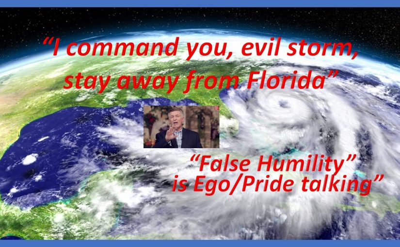 False Humility wrapped in a healthy dose of Ego/Pride