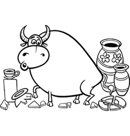 2,500-pound Bull versus Doggie Poop?