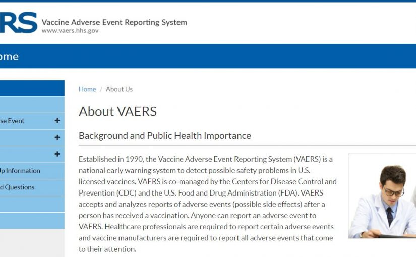 VAERS DATA – DEATHS FROM THE COVID VACCINES