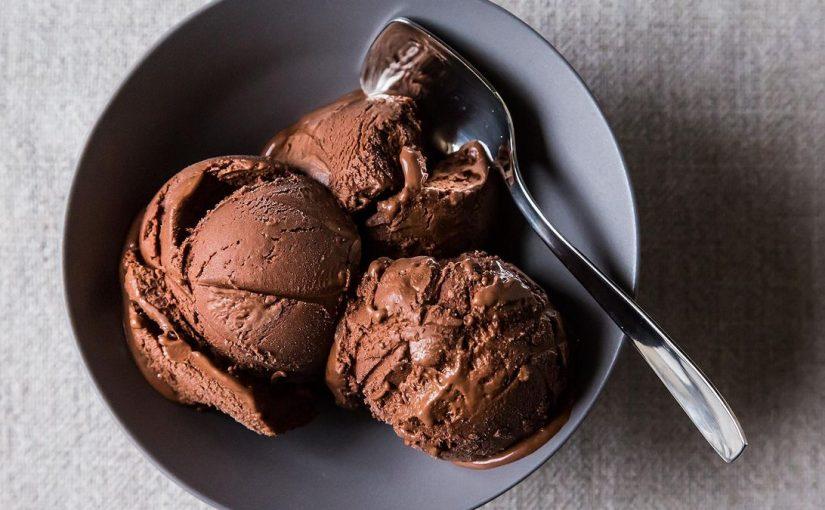 My Chocolate Ice Cream didn't melt!